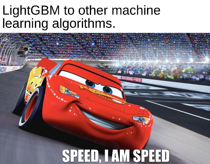LightGBM - Another gradient boosting algorithm